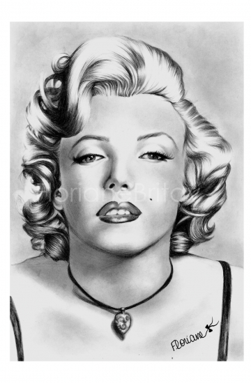 Marilyn Monroe by FloBrit
